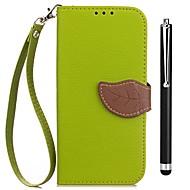 billiga Mobil cases & Skärmskydd-fodral Till Vivo Y53 Xplay6 Korthållare Plånbok med stativ Lucka Fodral Ensfärgat Hårt PU läder för vivo Y53 vivo Xplay6 Vivo Xplay5