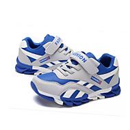 baratos Sapatos de Menino-Para Meninos Sapatos Couro Ecológico Verão Conforto / Gladiador / Solados com Luzes Sandálias Velcro para Vermelho / Azul / Azul Real