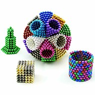 cheap Toys & Hobbies-648 pcs 5mm Magnet Toy Magnetic Balls Building Blocks Puzzle Cube Magnet Adults' Boys' Girls' Toy Gift