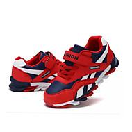 baratos Sapatos de Menino-Para Meninos Sapatos Tule Verão Conforto Mocassins e Slip-Ons Caminhada Elástico para Vermelho / Azul / Azul Claro