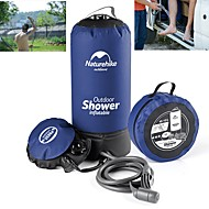 cheap Camping Tools, Carabiners & Ropes-Naturehike 11L Camp Shower Water Bag  Portable Inflatable Handshower Included Bath Pack Car Washing Pressure Faucet Camping / Hiking / Caving Travel