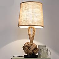 billige Lamper-Moderne / Nutidig Dekorativ Bordlampe Til Soverom Hemp Rope 220V