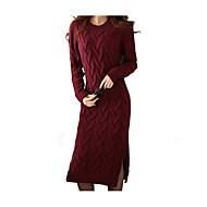 Žene Osnovni Korice Haljina Jednobojni Iznad koljena