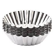 tanie Formy do ciast-Narzędzia do pieczenia Aluminium Kreatywny gadżet kuchenny / majsterkowanie Wielofunkcyjne / Dla Egg Nieregularna Przyrządy specjalne 12 szt.