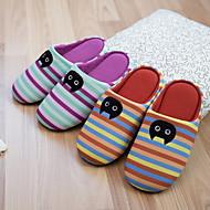 cheap Slippers-Stripes/Ripples Slippers Women's Slippers Polyester Terylene Animal Print