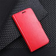 billiga Mobil cases & Skärmskydd-fodral Till LG K10 2018 G7 Korthållare Plånbok Lucka Magnet Fodral Enfärgad Hårt PU läder för LG V30 LG V20 MINI LG Q6 LG K10 2018 LG G7