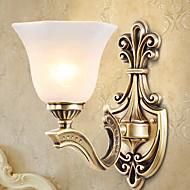 billige Vanity-lamper-Anti-refleksjon Rustikk / Hytte Vegglamper / Baderomsbelysning Stue / Soverom / Baderom Metall Vegglampe 220-240V 40W
