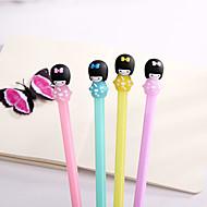 cheap Office & School Supplies-Gel Pen Pen Pen, ABS Resin Black Ink Colors For School Supplies Office Supplies Pack of 12