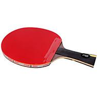 baratos Tenis de Mesa-DHS® Hurricane WANG FL Ping Pang/Tabela raquetes de tênis De madeira Fibra de carbono Borracha Cabo Comprido Espinhas