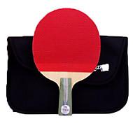 tanie Tenis stołowy-DHS® R5006 Ping Pang/Rakiety tenis stołowy Drewniany Gumowy 5 gwiazdek Krótki uchwyt Pryszcze