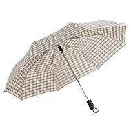 baratos Mais Populares-boy® Tecido Homens / Mulheres Ensolarado e chuvoso / Prova-de-Vento Guarda-Chuva Dobrável