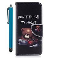 billiga Mobil cases & Skärmskydd-fodral Till Huawei Mate 10 lite Mate 10 Korthållare Plånbok med stativ Lucka Magnet Fodral Djur Hårt PU läder för Mate 10 Huawei Mate 8