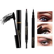 Řasenky Gelová oční linka tužka Pencil Eyeliner Voděodolné profesionální úroveň Přenosná 3 pcs Makeup Suché Jednobarevné Kosmetický Péče o srst