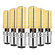 billiga Belysning-YWXLIGHT® 6pcs 7W 600-700lm E14 G9 G4 BA15d LED-lampor med G-sockel T 80 LED-pärlor SMD 5730 Bimbar Dekorativ Varmvit Kallvit 110-130V