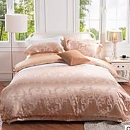 levne Luxusním povlaky Kryty-Povlečení Květinový 4 kusy Polybavlna 100% bavlna Reaktivní barviva Polybavlna 100% bavlna Povlak na přikrývku 1 ks 2 ks polštář 1 ks