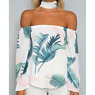 Majica s rukavima Žene Cvjetni print Osnovni