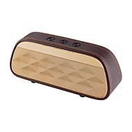 S-606 Alto-falante Bluetooth Bluetooth 3.0 AUX 3.5mm Espaço de Cartão TF Altofalante de Estante Preto Cinzento Marron