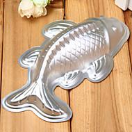 billige Bakeredskap-Cake Moulds Fisk Til Småkaker Til Brød Kake Aluminium Legering 7005 baking Tool
