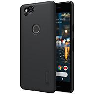 billiga Mobil cases & Skärmskydd-Nillkin fodral Till Google Pixel 2 XL / Pixel 2 Stötsäker / Frostat Skal Enfärgad Hårt PC för Pixel 2 / Pixel 2 XL