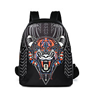 cheap Backpacks-Men's Bags PU(Polyurethane) Backpack Embroidery Black