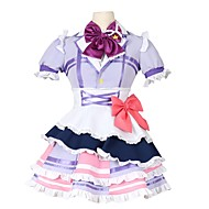 cheap Anime Cosplay-Inspired by Love Live Other Anime Cosplay Costumes Cosplay Suits Other Short Sleeves Cravat Dress Bow More Accessories For Men's Women's