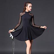 Latinské tance Šaty Dámské Trénink Bavlna Rozdělení 3/4 délka rukávu Vysoký Šaty