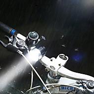 お買い得  自転車用ライト&反射鏡-後部バイク光 自転車用ヘッドライト LED LED サイクリング 簡単装着 スイッチ付(ES) 充電式リチウムイオン電池 800lm ルーメン 充電池 ホワイト キャンプ / ハイキング / ケイビング 日常使用 サイクリング 狩猟