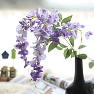 billige Kunstig Blomst-Kunstige blomster 1 Afdeling pastorale stil / minimalistisk stil Violet kurv med blomster