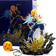 Anime Action Figures Inspired by Dragon Ball Vegeta PVC(PolyVinyl Chloride) 22 cm CM Model Toys Doll Toy