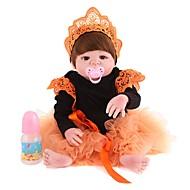 Χαμηλού Κόστους Kids-Κούκλες σαν αληθινές Νεό Σχέδιο Παιδιά Νεογέννητος όμοιος με ζωντανό Χαριτωμένο Σιλικόνη πλήρους σώματος Όλα Δώρο