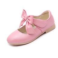 baratos Sapatos de Menina-Para Meninas Sapatos Courino Primavera / Outono Conforto / Salto minúsculos para Adolescentes Saltos para Dourado / Branco / Rosa claro