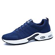 tanie Obuwie męskie-Męskie Komfortowe buty Tiul Lato Mokasyny i buty wsuwane Spacery Granatowy / Królewski błękit