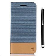 billiga Mobil cases & Skärmskydd-fodral Till LG K8 (2017) K10 (2017) Korthållare Plånbok med stativ Lucka Fodral Ensfärgat Hårt PU läder för LG K10 LG K10 (2017) LG K8