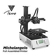 tanie Drukarki 3D-Tevo pełne zmontowane michelangelo drukarki 3d 150 * 150 * 150mm mks gen l_v 1.0 płyta główna wytłaczarki tytanu