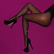 Dame Strømpebukser - Ensfarvet Tynde