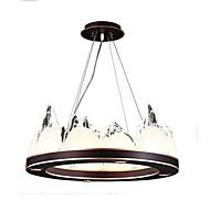 billige Takbelysning og vifter-QIHengZhaoMing LED Chic & Moderne Lysekroner Omgivelseslys - Øyebeskyttelse, 110-120V 220-240V LED lyskilde inkludert
