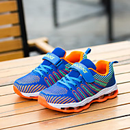 baratos Sapatos de Menino-Para Meninos Sapatos Tule Primavera / Outono Conforto Tênis Corrida para Azul Escuro / Preto / Vermelho / Azul Real