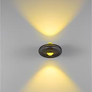 baratos Arandelas de Parede-ZHISHU Estilo Mini / Impermeável Clássica / Simples Luminárias de parede Ao ar Livre / Jardim / Corredor Metal Luz de parede 110-120V /