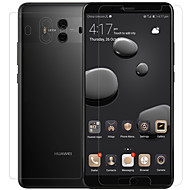 billiga Mobil cases & Skärmskydd-Skärmskydd Huawei för Mate 10 PET Härdat Glas 3 st Front & Back & Camera Lens Protector Antiglans Anti-fingeravtryck Reptålig Ultratunnt