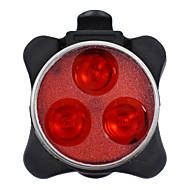 billige Sykkellykter og reflekser-Led Lys Baklys til sykkel sykkel glødelamper LED Sykling Bærbar Justerbar Vanntett Høy kvalitet Li-polymer 200 Lumens Oppladbart/Strøm