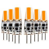 billige Bi-pin lamper med LED-YWXLIGHT® 6pcs 4W 300-400lm G4 LED-lamper med G-sokkel T 1 LED perler COB Varm hvit Kjølig hvit Naturlig hvit 12-24V