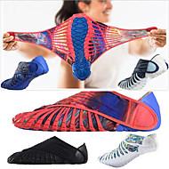 abordables Déstockage-Five-Toes Homme Chaussures de Course Gomme Activités Extérieures / Course à Pied Poids Léger, Séchage rapide, Respirable Synthétique Rouge / Bleu / Bleu / blanc