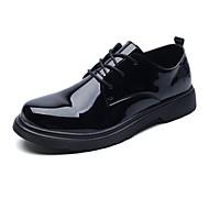 abordables Oxfords pour Homme-Homme Chaussures Formal Cuir / Polyuréthane Eté Confort Oxfords Noir / Chaussures habillées