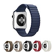 Urrem for Apple Watch Series 3 / 2 / 1 Apple Læderrem Ægte læder Håndledsrem