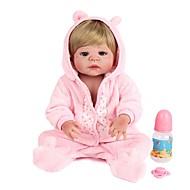 Χαμηλού Κόστους Kids-Κούκλες σαν αληθινές Πριγκίπισσα Νεογέννητος όμοιος με ζωντανό Χαριτωμένο Σιλικόνη πλήρους σώματος Όλα Δώρο