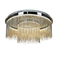 billige Taklamper-QIHengZhaoMing 2-Light Lysekroner Omgivelseslys Krom Metall Øyebeskyttelse 110-120V / 220-240V Pære Inkludert / Integrert LED