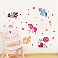 Animals Wall Stickers Animal Wall Stickers Decorative Wall Stickers, Vinyl  Home Decoration Wall Decal Wall Decoration 1pc