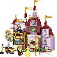 LELE Educational Building Blocks Toys For Children Gifts Castle Girls Friends Princess Prince Mermaid Beauty Beast Snow Elsa Anna Byggeklodser 379 pcs Blomster Tema / Eventyr Tema / Arkitektur