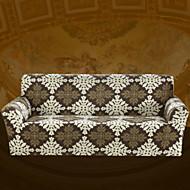billige Overtrekk-Kunstnerisk Stil Barokk 100% Polyester Mønstret Toseters sofatrekk, Enkel Trykt mønster Pigment Tryk slipcovere
