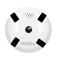 billige Innendørs IP Nettverkskameraer-VESKYS 1.3mp IP Camera Innendørs with Primær 128GB